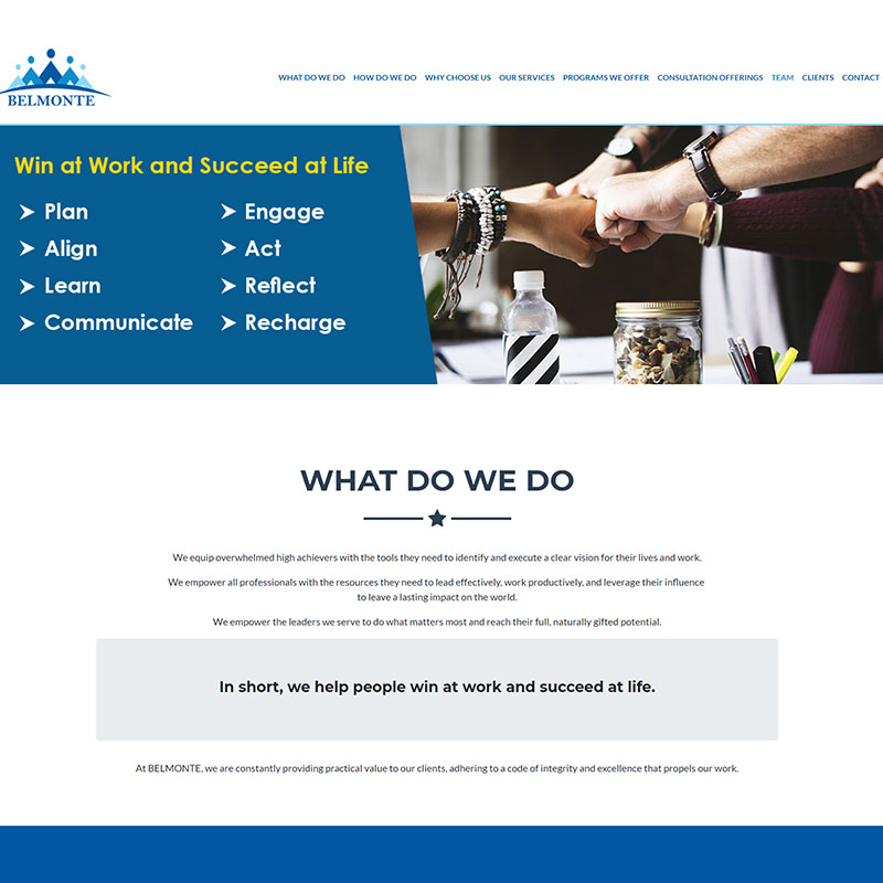 HR & IT Solutions / Website Design & Development